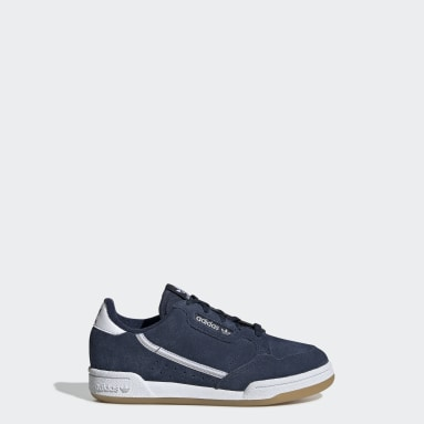 Children Originals Blue Continental 80 Shoes