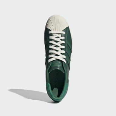 Tenis Superstar 80s Verde Hombre Originals