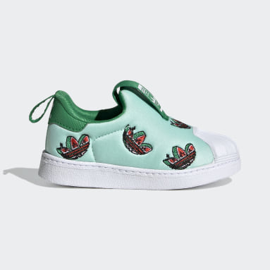 Kids Originals Turquoise Superstar 360 Shoes