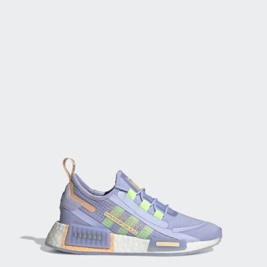 Kids Originals Purple NMD_R1 Spectoo Shoes