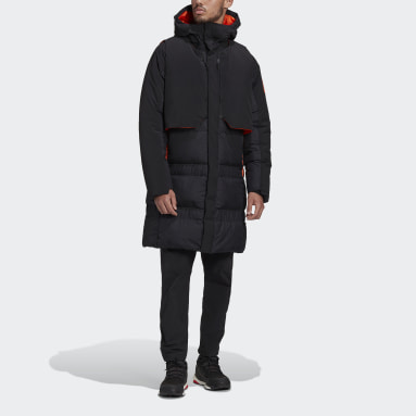 Heren City Outdoor Zwart MYSHELTER COLD.RDY Parka