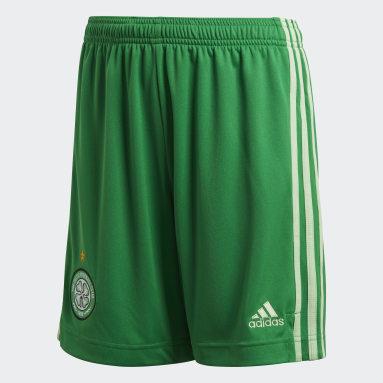 Kids Football Green Celtic FC 20/21 Away Shorts