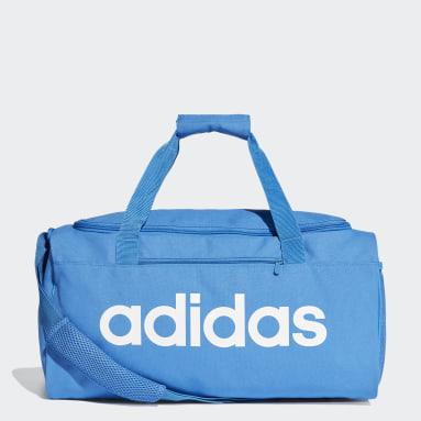 Sportswear Blue Linear Core Duffel Bag Small