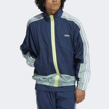 Men Originals Blue Lightweight Jacket