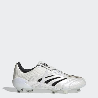 Men Soccer White Eternal Class.1 Predator Absolute Firm Ground Cleats