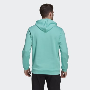 Men TERREX Green Terrex Graphic Logo Hoodie