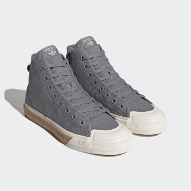 Chaussure Human Made Nizza Hi gris Originals