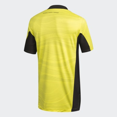 Camiseta De Arquero Club Colo-Colo Amarillo Mujer Fútbol