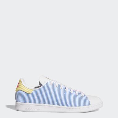 Men Originals White Stan Smith Pride Shoes