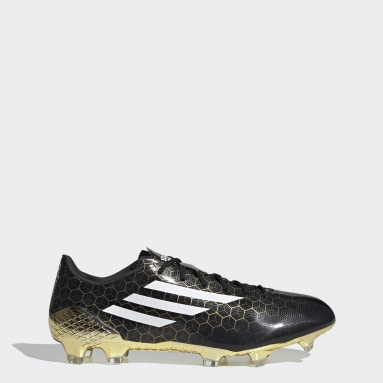 Heren Voetbal Zwart F50 Ghosted Adizero Crazylight Firm Ground Voetbalschoenen
