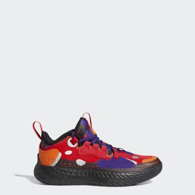 Kinderen Basketbal rood Harden Vol. 5 Schoenen