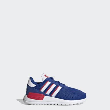 Kids Originals Blue LA Trainer Lite Shoes