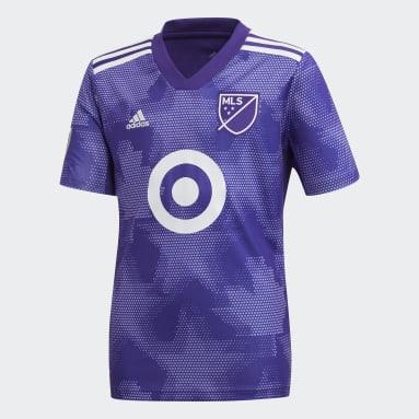 Boys Football Purple MLS All-Star Jersey