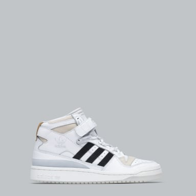 Zapatillas FORUM MID Blanco Originals
