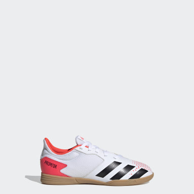 Kids Futsal White Predator 20.4 Indoor Sala Boots