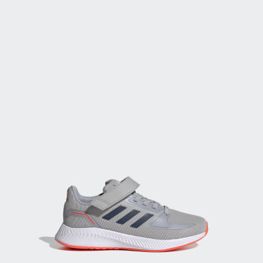 Kids Running Grey Runfalcon 2.0 Shoes
