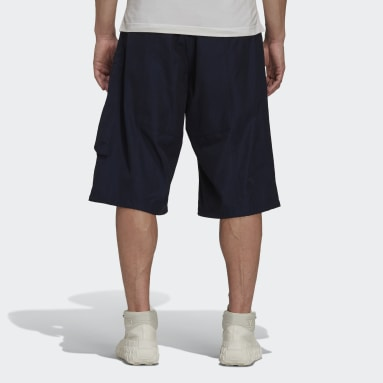 Mænd Y-3 Blå Y-3 Classic Light Ripstop Utility shorts