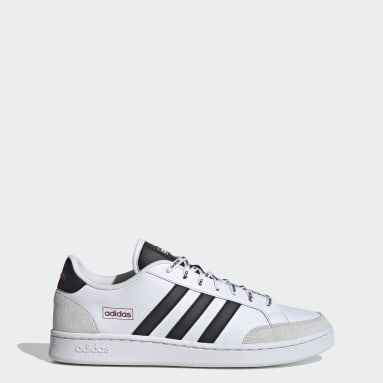 Chaussure Grand Court SE blanc Hommes Essentials