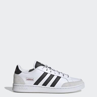 Men Essentials White Grand Court SE Shoes