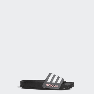 Children Swim Black Adilette Shower Slides