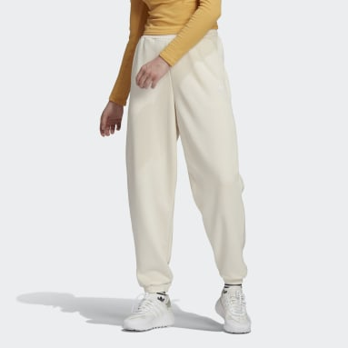 Women Originals White Adicolor Classics No-Dye Relaxed Joggers