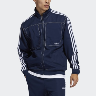 Men Originals Blue Track Jacket