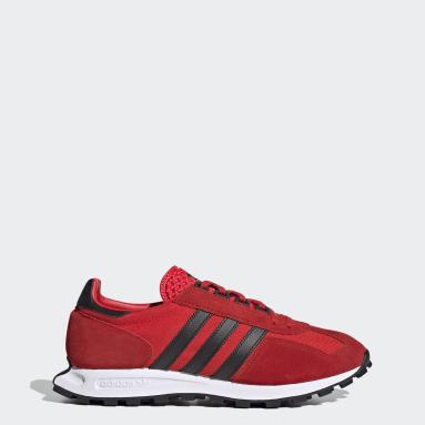 Men Originals Red Racing 1 Shoes
