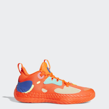 Zapatillas Harden Vol. 5 Futurenatural Naranja Básquet