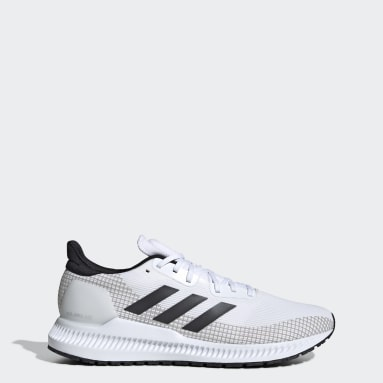 Men Running White Solar Blaze Shoes