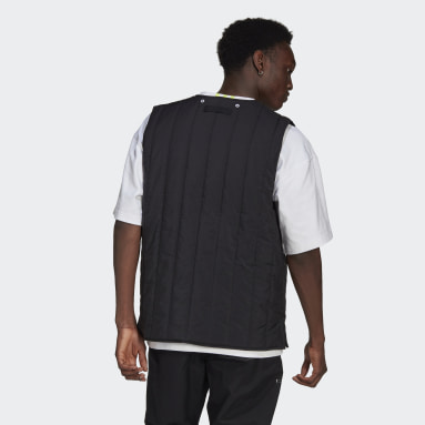 Heren Originals Zwart R.Y.V. Light Padded Utility Bodywarmer