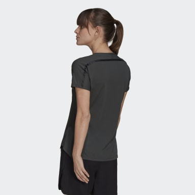 Women City Outdoor Green Agravic Trail All-Around Parley Tee