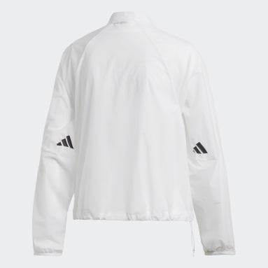 Ženy Sportswear bílá Bunda adidas Athletics Pack