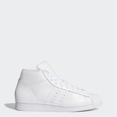 Men's Originals White Pro Model Shoes