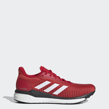 Men Running Red Solar Drive 19 Shoes