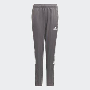 Youth Soccer Grey Tiro 21 Track Pants