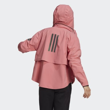 Women's Hiking Pink MYSHELTER Rain Jacket
