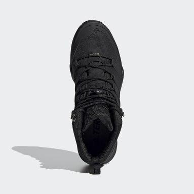 Erkek TERREX Siyah Terrex Swift R2 Mid GORE-TEX Yürüyüş Ayakkabısı