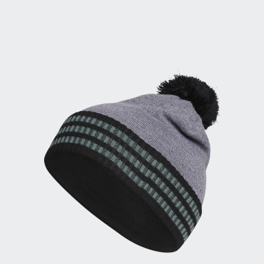 Men Golf Black Golf Statement Beanie