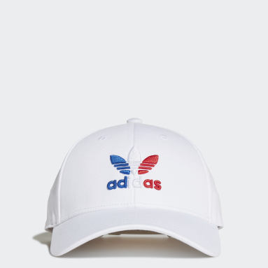 Gorra Trefoil Baseball Blanco Originals