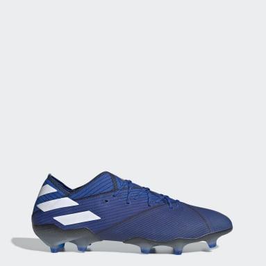 Men Football Blue Nemeziz 19.1 Firm Ground Boots