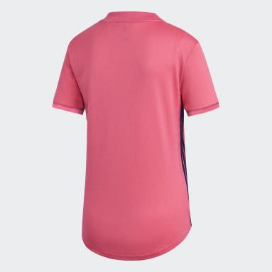Camiseta segunda equipación Real Madrid 20/21 Rosa Mujer Fútbol