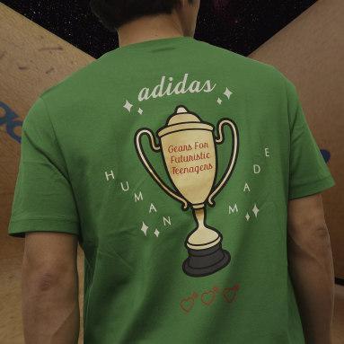 T-shirt Human Made Graphic vert Hommes Originals
