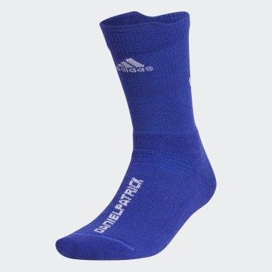 Basketball Blue Basketball Daniel Patrick Alphaskin Wool Crew Socks