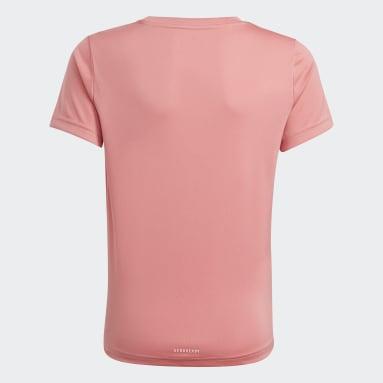 Camiseta adidas Designed To Move Rosa Niña Sportswear