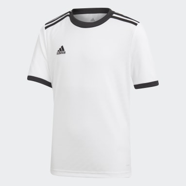 Camiseta Tiro Blanco Niño Gimnasio Y Entrenamiento