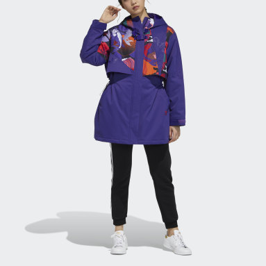 Women Originals Purple CNY Parka