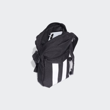 Tennis Black Essentials 3-Stripes Shoulder Bag