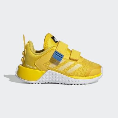Kids Running Yellow adidas x Classic LEGO® Sport Shoes