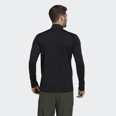 Terrex Everyhike Half-Zip Fleece Jakke Svart