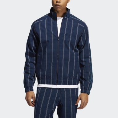 Men's Originals Blue SPRT Collection MW Track Jacket